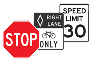 signs supplies for your municipality needs